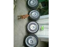 Mercedes Benz 18 inch alloy wheels