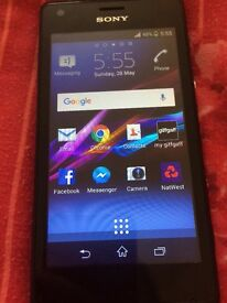 Sony Xperia Smartphone o2 or giffgaff