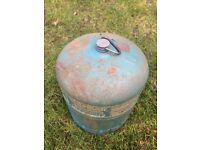 Campingaz gas bottle 907 With Handle small amount of gas