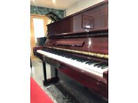 1987 Samick SU-118 Modern Upright Piano in Rosewood Gloss - FREE DELIVERY 2Y WTY