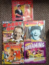 Carry on sealed Calendars