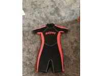No Fear wetsuit Age 7-8