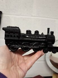 Train bottle - collectible Avon locomotive