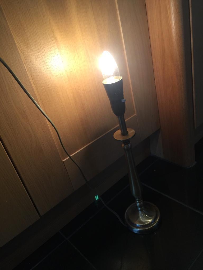 Lamp Base - Gold/Brass Coloured