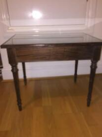 Glass Top Coffee Table with Dawes