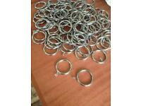 Stainless Steel Curtain Rings