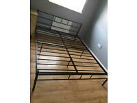 King size bed frame brand new