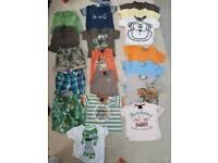 Baby boys next 6-9 months summer bundle br7
