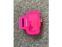 Brand new pink Karrimor iPhone 5C holder running arm band