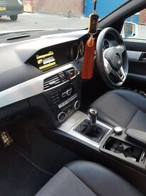 Mercedes C class 2012 with low milege