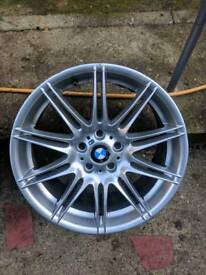 Bmw mv4 alloy genuine front alloy 19 inch single spare