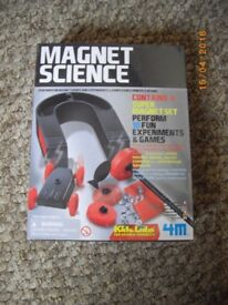 Magnet Science gift set by Kidz Labz brand new, unopened