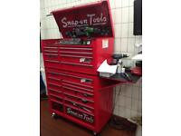 Snap On box 6 months old BARGAIN