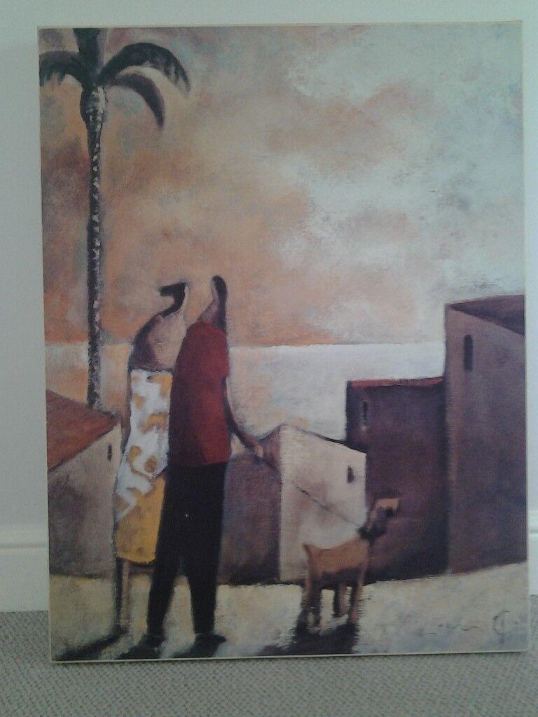 Large Mediterranean print John Lewis