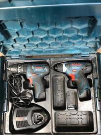 Bosch 10,8 Twin Pack
