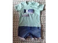 Baby boy summer romper age 6-9 months