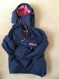 Small women's Superdry rainproof hoodie....hardly worn