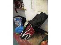 Men's golf club set and accessories