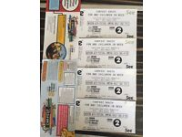 Carfest South Family Tickets 2 children 2 adults Camping Friday/ Sat/ Sunday