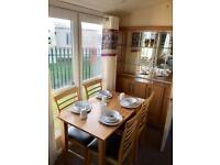 Fully centrally heated double glazed,2 bed static in st osyth, clacton essex