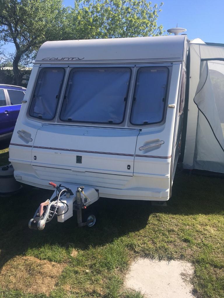 Abbey County Oxford 1997 4 Berth Touring Caravan