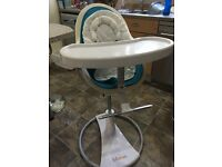 Bloom Fresco Leatherette High Chair