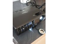 OPTOMA EP7155 DLP Projector - SPARES OR REPAIR - See Photos.