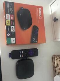 Roku now TV box