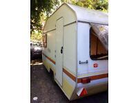 Vintage Alpine Sprite 4 berth caravan - project