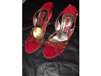 Gina Shoes - Red