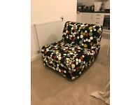 AMAZING IKEA LYCKSELE CHAIR-BED IN EXCELLENT CONDITION. MUST GO