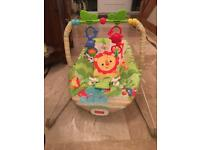 FISHER PRICE BABY VIBRATING BOUNCER