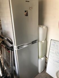 BUSH silver fridge freezer - only 18 months old. Collection from Chorley