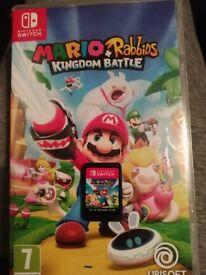 Mario + Rabbids Kingdom Battle ( Nintendo Switch)