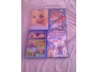 CHILDRENS DVD BUNDLE X 4 IMMACULATE CONDITION SOME STILL NEW