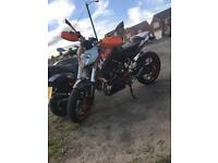 Ktm Duke 125 (Athena 160 kit)
