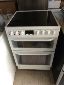 **AEG**ELECTRIC COOKER**60CM**DOUBLE OVEN\GRILL**CERAMIC**COLLECTION\DELIVERY**NO OFFERS**