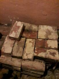 Reclaimed Norfolk Red bricks