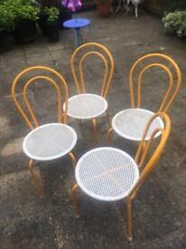 Chairs metal indoor or outdoor
