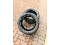 2x almost new 195 50 15 tyres