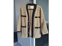 Maje tweed / cardigan jacket
