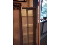 Wall Mounted Glass front Display Cabinet