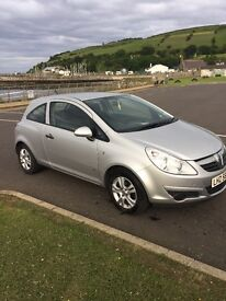 2009 Vauxhall corsa, car is in very good condition with service history and low miles!