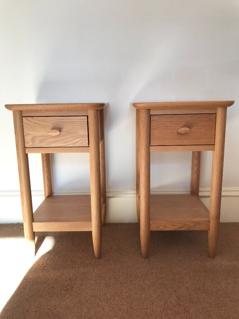 huge selection of cc686 0c3d0 2 x Ercol Teramo Compact Bedside Tables. As new in immaculate condition.  SOLD PENDING COLLECTION   in Torphins, Aberdeenshire   Gumtree