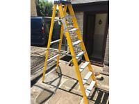 Tp Davies 8 tread fibreglass electricians step ladders