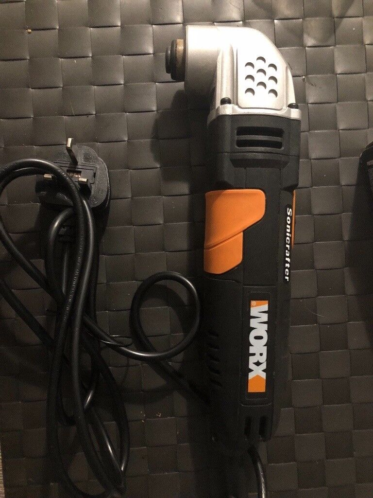 Ex display worx sonicrafter oscillating tool boxed with accessories