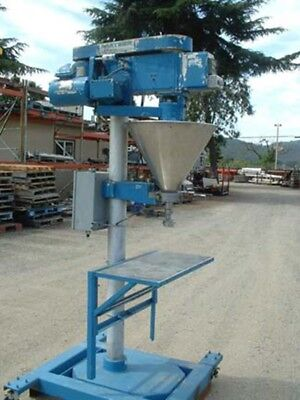 Mateer Model 31-a Auger Filler Stainless Steel Product Contact