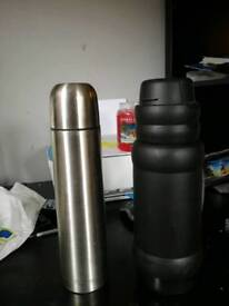 2x work flasks both used so some wear and tear but good con