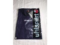 Various Football Rugby Drill Tops Brand New With Labels Blue/Black Warm Various Sizes RRP £19.99