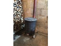 Workshop burner - flue not included